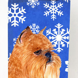 Caroline's Treasures - Brussels Griffon Winter Snowflakes Michelob Ultra Koozies for slim cans - Brussels Griffon Winter Snowflakes Holiday Michelob Ultra Koozies for slim cans SS4632MUK Fits 12 oz. slim cans for Michelob Ultra, Starbucks Refreshers, Heineken Light, Bud Lite Lime 12 oz., Dry Soda, Coors, Resin, Vitaminwater Energy, and Perrier Cans. Great collapsible koozie. Great to keep track of your beverage and add a bit of flair to a gathering. These are in full color artwork and washable in the washing machine. Design will not come off.