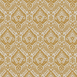 Nater Berkus Safi Fabric, Maize - I love this gold ikat from Calico Corners. It would add understated character to an ottoman, dining chair or pillows.
