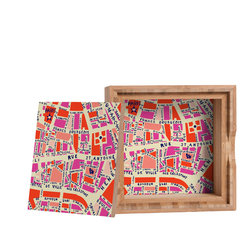 DENY Designs - Holli Zollinger Paris Map Storage Box - Love yourself a knickknack or two (or three)? Well, then this is the box for you! The Amber Bamboo wooden Storage Box is available in two sizes with a printed exterior lid and interior bottom. So, you can still be a collector of sorts, but now you've got an organized home for it all. 100% sustainable, eco-friendly flat grain amber bamboo wood box with printed glossy exterior lid and interior bottom. Custom made in the USA for every order.