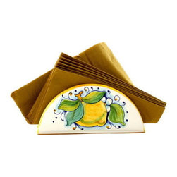 Artistica - Hand Made in Italy - Limoni: Napkins Holder - Limoni Collection