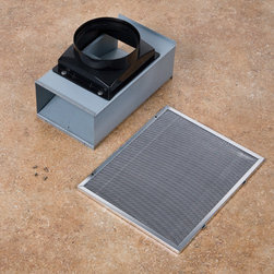 ProAire Ductless Type-A Recirculating Kit for Island Range Hoods - An excellent alternative for your range hood when running ductwork is not practical; this ductless recirculating kit is made for specific series of island range hoods.