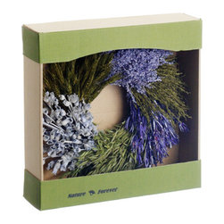 Silk Plants Direct - Silk Plants Direct Preserved Lavender Wreath (Pack of 1) - Silk Plants Direct specializes in manufacturing, design and supply of the most life-like, premium quality artificial plants, trees, flowers, arrangements, topiaries and containers for home, office and commercial use. Our Preserved Lavender Wreath includes the following:
