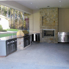 Contemporary Outdoor Grills by U.S. Sheet Metal Company, Inc.