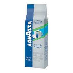 Lavazza - Lavazza Whole Bean Decaf 1.1lb, Gran Filtro - Don't lose any sleep over the decaf dilemma. Have the rich, creamy full-flavored espresso taste you crave with 100 percent Arabica beans water-processed to remove the caffeine.