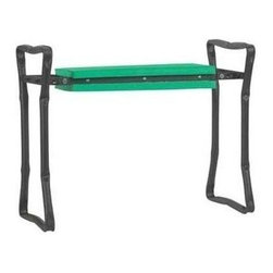 Gardman USA - Fold A Way Garden Kneeler Seat - FOLD A WAY GARDEN KNEELER AND SEAT. Heavy duty multi-use as garden seat or kneeler. Extra strong handles and stitching. Folds flat for easy storage.