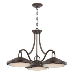 Nuvo Lighting - Nuvo Lighting 62/172 Contemporary Antique Brass   PendantSawyer Collection - Sawyer - LED Dinette Fixture