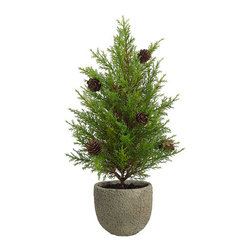 Silk Plants Direct - Silk Plants Direct Pine Tree (Pack of 4) - Silk Plants Direct specializes in manufacturing, design and supply of the most life-like, premium quality artificial plants, trees, flowers, arrangements, topiaries and containers for home, office and commercial use. Our Pine Tree includes the following: