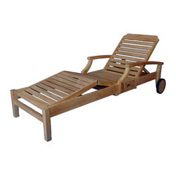 Ravello Chaise Lounger with Arms