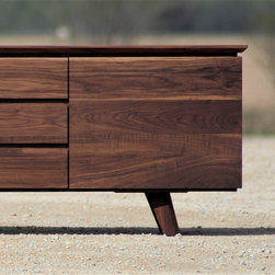 Eastvold Classic Sideboard - I've had the chance to interview Matt Eastvold before, and I love his dedication to fine carpentry and thoughtful design. This long chest can serve as a dining room sideboard, a media console or a bedroom dresser.