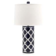 Eclectic Table Lamps by Jill Rosenwald
