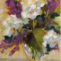 """Hydrangeas"" (Original) By Chris Brandley - Brighten Up Your Room With These Everlasting Hydrangeas."