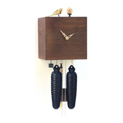 ROMBACH UND HASS - Free Birds - Bamboo Cuckoo Clock - Walnut - 8 day Movement - Official Black Forest clock licensed by the VDS