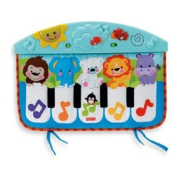 Fisher Price - Fisher-Price Precious Planet Kick & Play Piano - Now, every kick your baby makes can trigger something exciting and special, with musical rewards, dancing lights and adorable animal friends from around the planet.