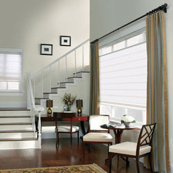 Levolor Flat Panel Roman Shades - Levolor roman shades, the most luxurious and highest quality window coverings available. Our unique fabrics range from vibrant stripes and rich solids to beautiful patterns and rich textures, many that are only available from Levolor. These carefully selected textiles are designed to fit any lifestyle and decor taste, from traditional to contemporary and anywhere in between.