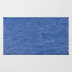 Tuscan Blue Plaster Rug Home Accessories - Corbin Henry