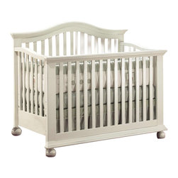 Sorelle - Sorelle Vista 4-in-1 Baby Crib in French White - Sorelle - Cribs - 261FW - From the Sorelle family to yours Sorelle brings you superb style, peace of mind, and a sound investment offering room collections that will grow with your infant and toddler for many years to come. Sorelle furniture showcases both classic, traditional, and contemporary designs. The many stylish collections wed form and function offering a variety of looks to suit every home decor.