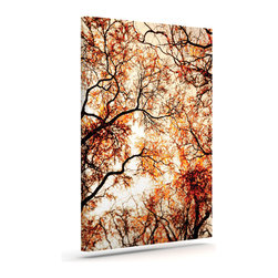 """Kess InHouse - Bree Madden """"Fire Trees"""" Wrapped Art Canvas (8"""" x 10"""") - Bring your outdoor patio to life with this artistic outdoor canvas wrap featuring gorgeous artwork by KESS InHouse. These canvases are not only easy to hang and remove but also are the perfect addition to your patio collection. These canvases are stretched around a wooden frame and are built to withstand the elements and still look artistically fabulous. Decorating your patio and walls with these prints will add the splash of art and color that is needed to bring your patio collection together! With so many size options and artwork to choose from, there is no way to go wrong with these KESS Canvas Wraps!"""