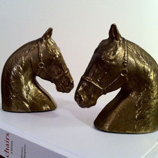 Eclectic Bookends by Minty Shop