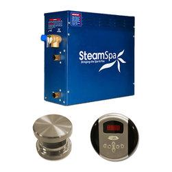SteamSpa - SteamSpa Oasis 7.5kw Steam Generator Package in Brushed Nickel - DESCRIPTION