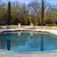 Contemporary Swimming Pools And Spas by Reynolds Landscape and Pools