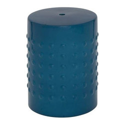 Benzara - Classy Designed Aqua Blue Compact and Portable Ceramic Stool - Classy Designed Aqua Blue Compact and Portable Ceramic Stool. Besides sofas, tables and chairs, the stools have also become an important part of the interiors of your home especially if the number of family members is high. Some assembly may be required.