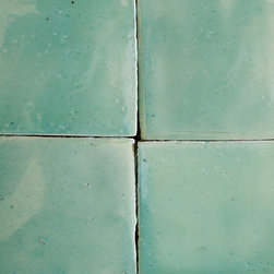Chesley Uni Handcrafted Tile - Wow, I love the texture and depth of color in this tile, for me nothing beats handmade tile for creating a distinct kitchen or bath.