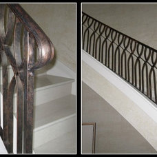 Modern Staircase by D'Hierro Hand Forged Iron