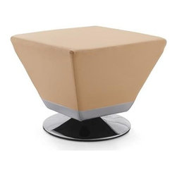 International Design - Ultra Modern Cube Ottoman - 20 in. W x 20 in. D x 17 in. HThis sleek cube ottoman adds spirit to any modern decor.