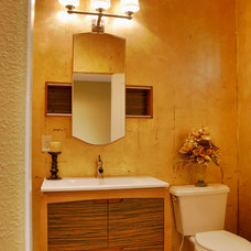 Traditional Powder Room by Jason Ball Interiors, LLC