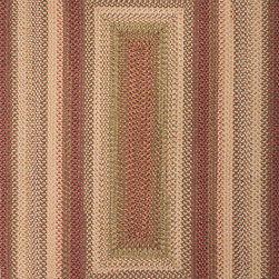 """Ultra Durable Braided Rugs UBR01 Rug - 2'3""""x3'9""""Oval - These Incredibly durable braided rugs can be used to add color and texture to any room, be it inside or out."""