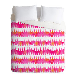 DENY Designs - Betsy Olmsted Owl Feather Duvet Cover - Turn your basic, boring down comforter into the super stylish focal point of your bedroom. Our Luxe Duvet is made from a heavy-weight luxurious woven polyester with a 50% cotton/50% polyester cream bottom. It also includes a hidden zipper with interior corner ties to secure your comforter. it's comfy, fade-resistant, and custom printed for each and every customer.
