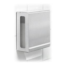 "Blomus - Nexio Paper Towel Dispenser, Matte - Paper towel dispenser - holds tissues   Holds Max 10""x5"" C fold (single fold) paper towels. Choose Matte or a Polished finish."