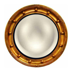 Regency Convex Mirror - When you want to add a little something glamorous to a traditional space, this mirror is the perfect pick.
