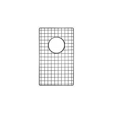 "10"" X 17"" Bottom Grid In Stainless Steel - This bottom sink grid fits the small side of the Farmhouse Duet Pro sink and the Cocina Duet Pro sink. The grid comes in either a mocha finish or stainless steel."