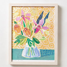 Eclectic Artwork by Anthropologie