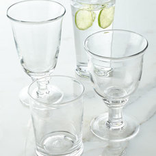 Traditional Everyday Glassware by Horchow
