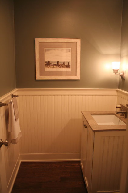 Traditional Powder Room by CMR Interiors & Design Consultations Inc.