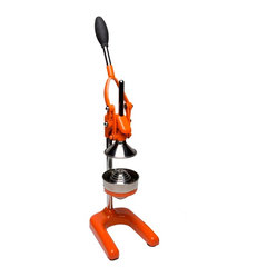 Frieling - Orange Press - If you're looking for an alternative to cartons, cans and bottles of juice, then this fruit press is a big step in the right direction. It sports an impressive design, so keeping it on a countertop keeps your kitchen looking, well … sweet.