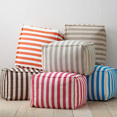 Contemporary Floor Pillows And Poufs by Garnet Hill