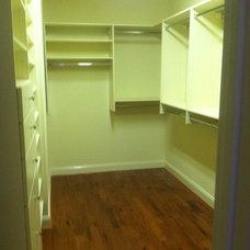 Contemporary Closet by A Better Closet