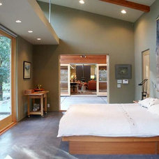 Modern Bedroom by Klopf Architecture