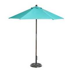 Aqua Market Umbrella