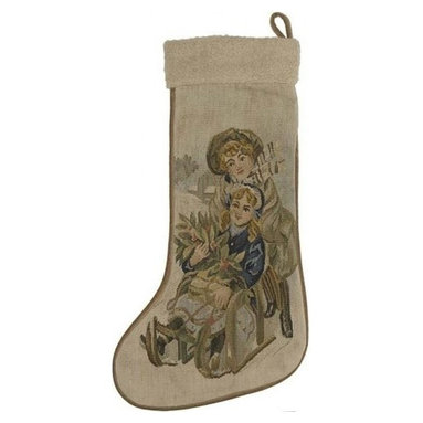 "EuroLux Home - New 13.5""x20"" Christmas Stocking Stocking - Product Details"