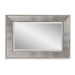 Bassett Mirror - Bassett Mirror Small Beaded Wall Mirror - Small Beaded Wall Mirror