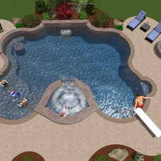 Modern Swimming Pools And Spas by Parrot Bay Pools & Spas