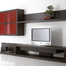 Modern Entertainment Centers And Tv Stands by Dayoris Custom Woodwork