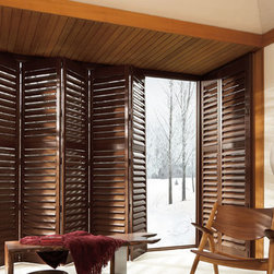 Hunter Douglas NewStyle® Hybrid Shutters - Hunter Douglas NewStyle® Hybrid Shutters