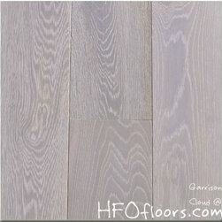 Garrison French Connection - French Connection Cloud wire-brushed white oak hardwood. Available at HFOfloors.com.