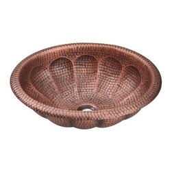 PolarisSinks - Polaris P129 Single Bowl Oval Copper Sink - Our handcrafted copper sinks add warmth and richness to a variety of decors. Our line of copper sinks come in a hammered finished with a beautifully aged patina. The Hammered finish will help hide small scratches that may occur over the lifetime of the sink. Copper is a naturally antibacterial and will not rust or stain, making it low maintenance. Each sink is fully insulated with sound dampening pads. Our copper sinks are covered by a limited lifetime warranty. Each sink comes with a cardboard cutout template and mounting hardware.