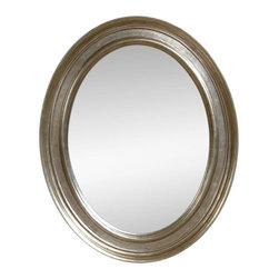 Bassett Mirror Company - Bassett Mirror Transitions Bellagio Oval Wall Mirror in Silver - Bellagio Oval Wall Mirror in Silver belongs to Transitions Collection by Bassett Mirror Company Bassett Mirror is fluent in this art, showing a terrific contemporary furniture that will satisfy on the one hand fans of home coziness, and on the other hand - seekers of non-standard design solutions also. One of the many strengths of the Bassett Mirror is using high quality materials for perfect embodiment of brilliant design ideas. Mirror (1)